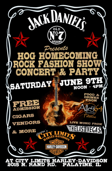 H.O.G. Rock Fashion Show Concert wisely chooses