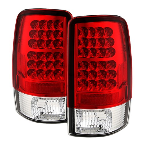 Red Clear 2000 2006 Chevrolet Chevy Suburban 1500 2500 Tahoe Gmc Yukon Xl Philips Lumileds Led Rear Brake Lamps Tail Lights Replacements Both Driver Passenger S With Images Led Tail Lights Chevy Suburban Gmc Yukon
