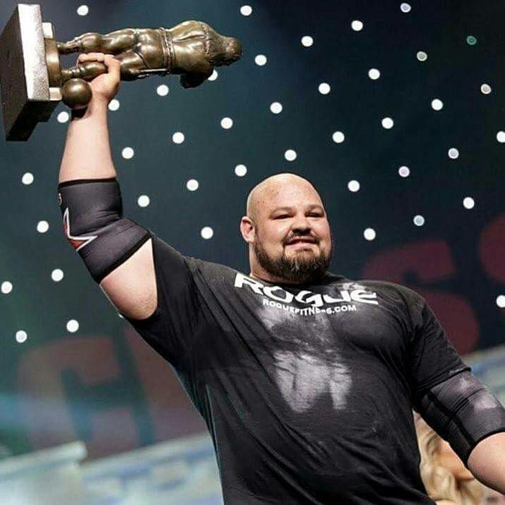 4x World Strongest Man Brian Shaw Shawstrength From The United