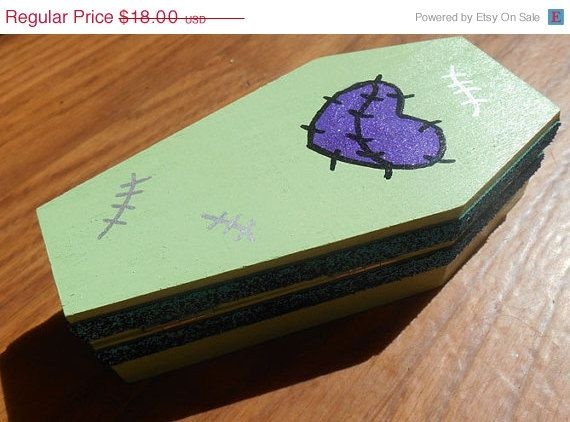 Monster High Frankenstein Box Jewelry Box MH Jewelry Box Trinket