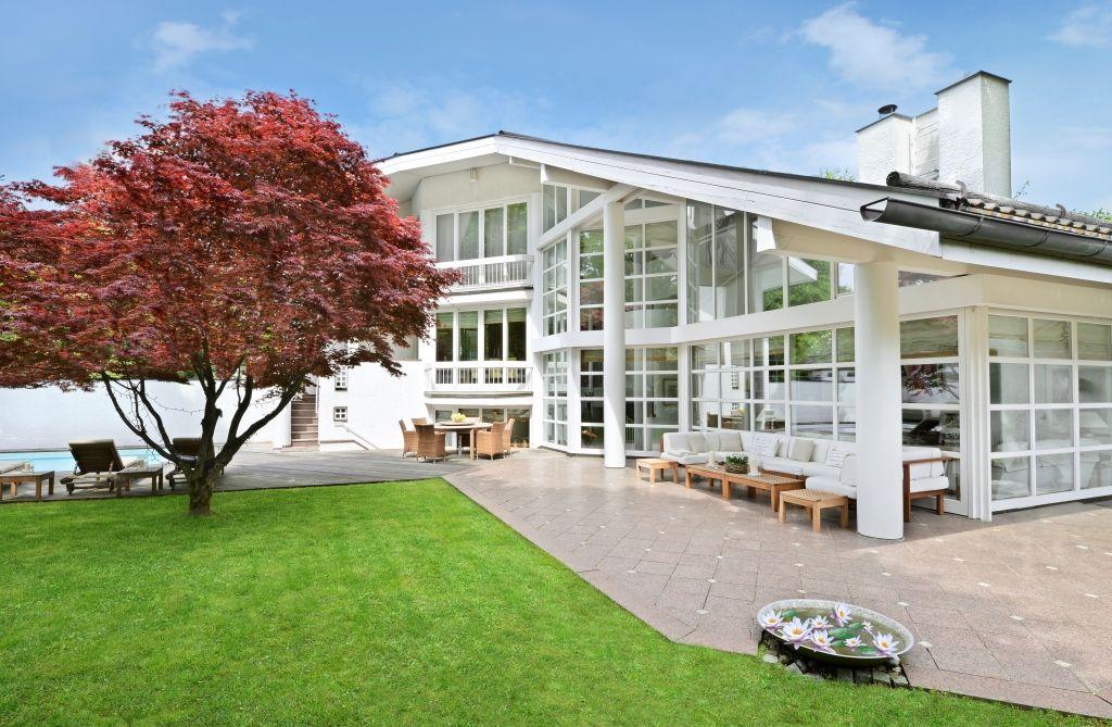 Garten Der Luxusklasse In Bestlage Grunwald Immobilienmakler Immobilien Schone Hauser