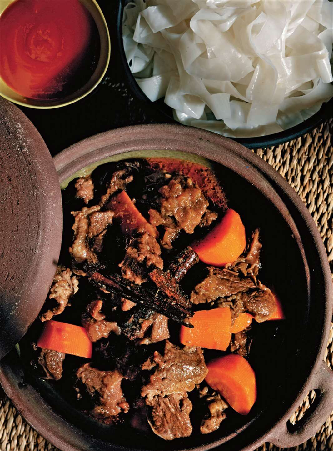 Hanoi braised beef with red wine by Tracey Lister from Real Vietnamese Cooking | Cooked