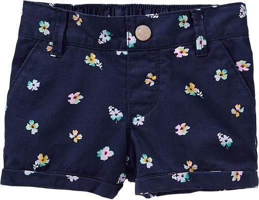 Old Navy Cuffed Twill Shorts for Baby on shopstyle.com