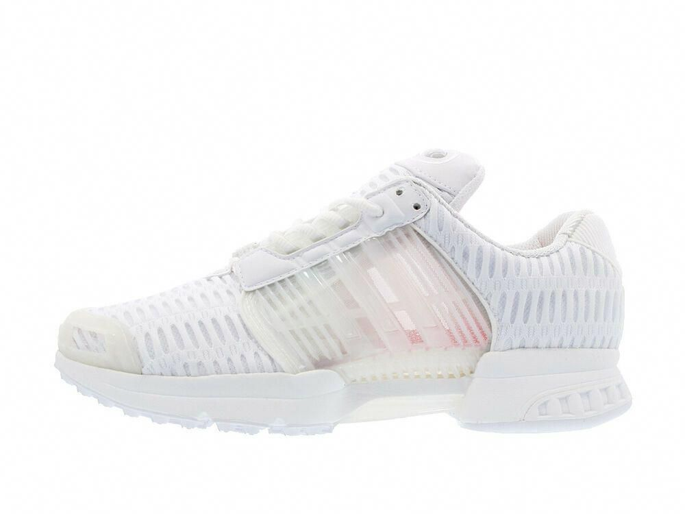 970d82fc2 New Mens adidas Originals CLIMACOOL 1 SHOES Triple White Running S75927  Shoes  Adidas  AthleticSneakers