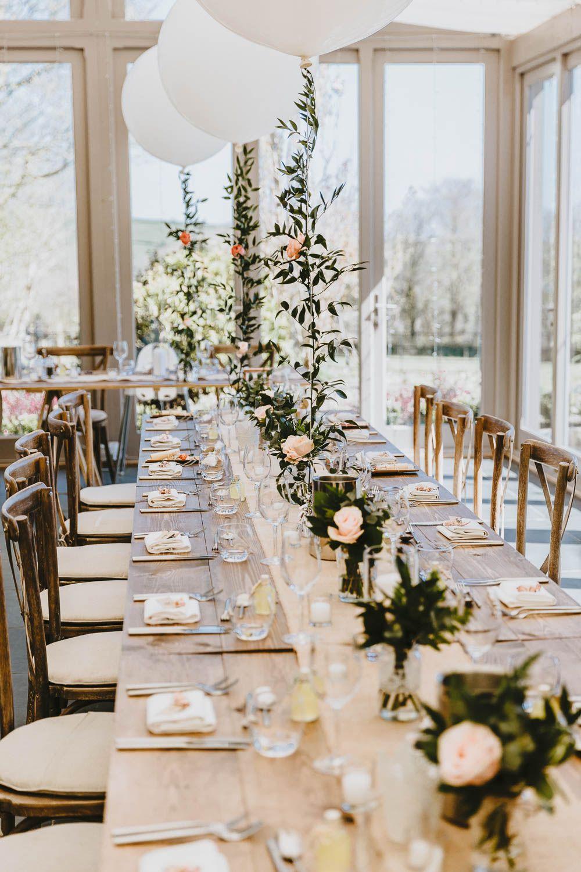 Trevenna Barns Wedding Delightfully Rustic Peach Country