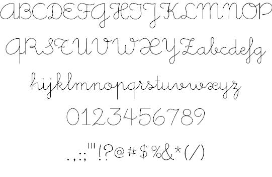 Image for Little Days font
