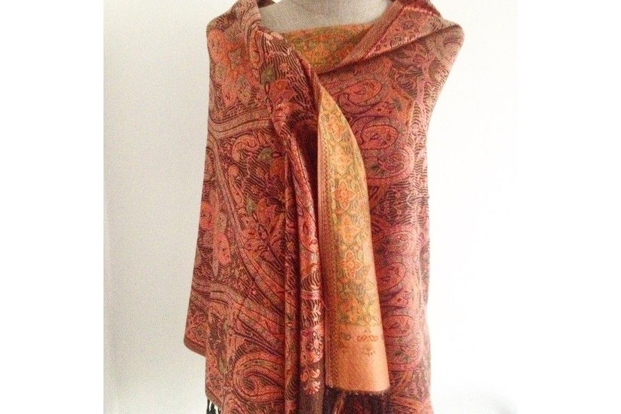 4d054b4116f2 Pashmina Madras   Pashmina brodé   Clothes for women et Women