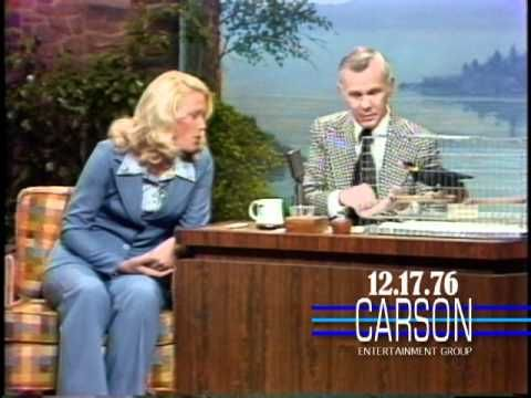"""Joan Embrey Brings a Laughing Bird on """"The Tonight Show Starring Johnny Carson"""" — 1976 http://sonnyradio.com/johnny-carson-howard-laughing-bird.html"""