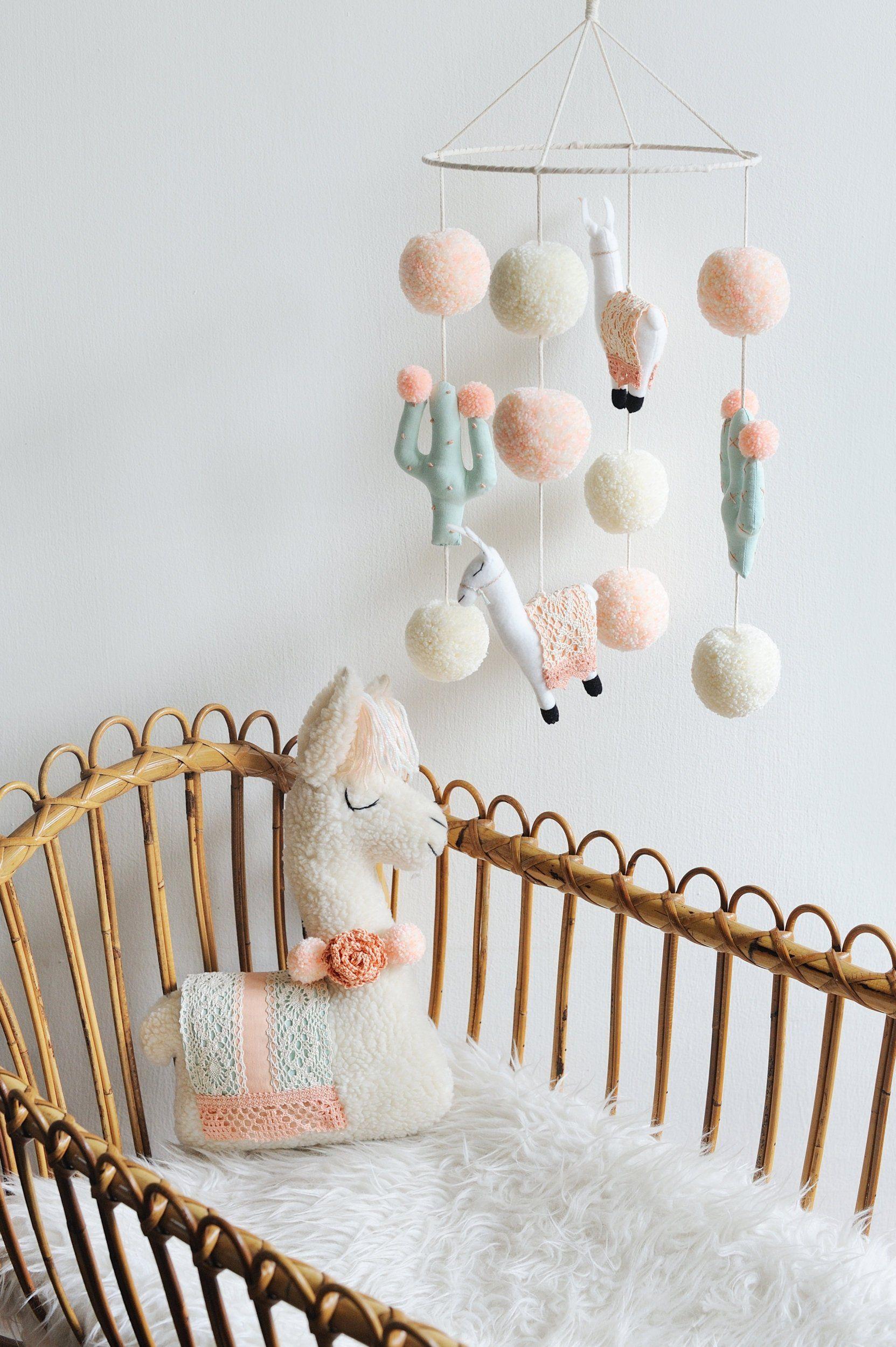 Lama peluche, jouet de Lama, Lama pépinière, Lama Nursery décor