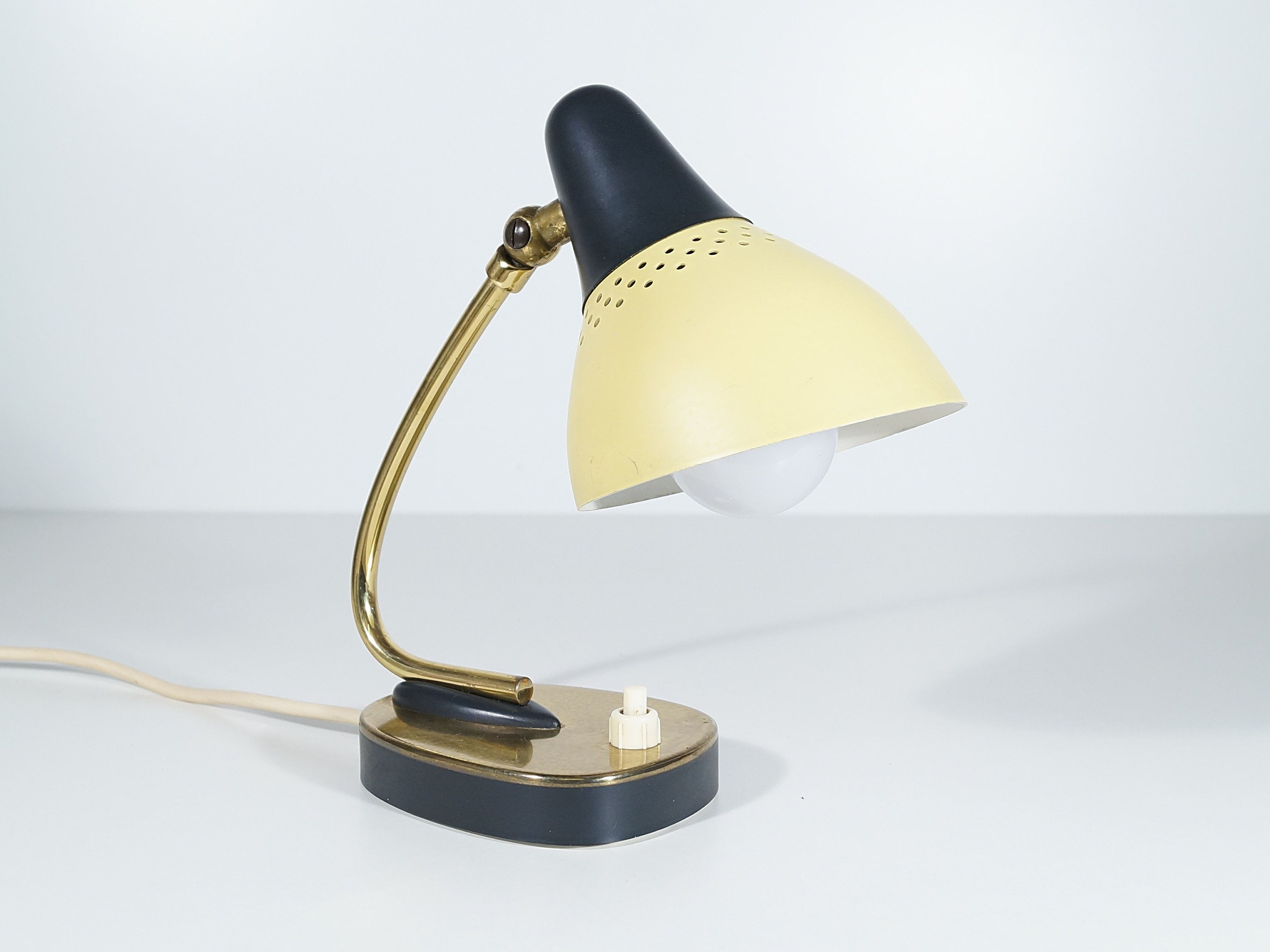 Schlafzimmer Tischlampen Small Bedside Lamp 50s Vintage Lamp Table Lamp Retro Bedroom