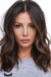 Cocoa Butter Might Be Hair Color Brunettes Have Been Craving All Along #BeautyBl…