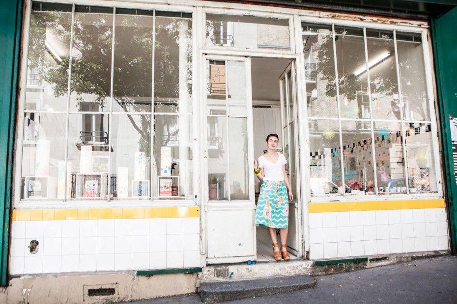 Céline Saby — Designer, Atelier and Apartment, 20ième arrondissement, Paris —