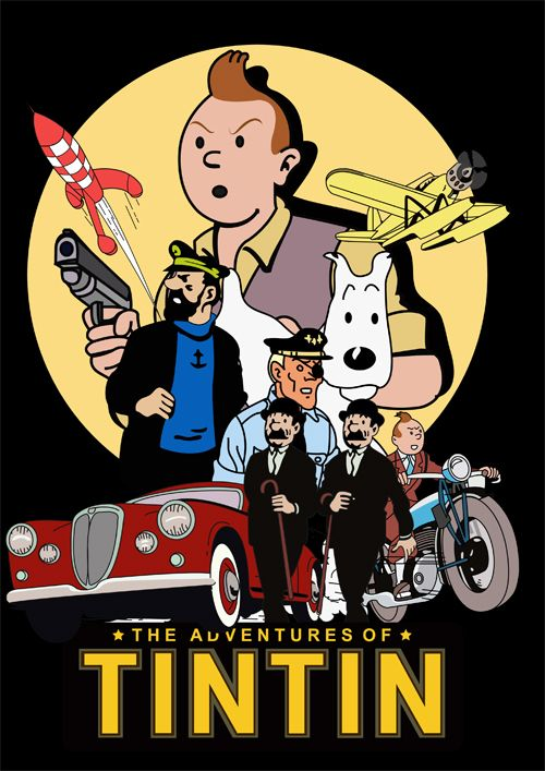 The Adventures Of Tintin By Jake Gunn Aventuras De Tintim Tim