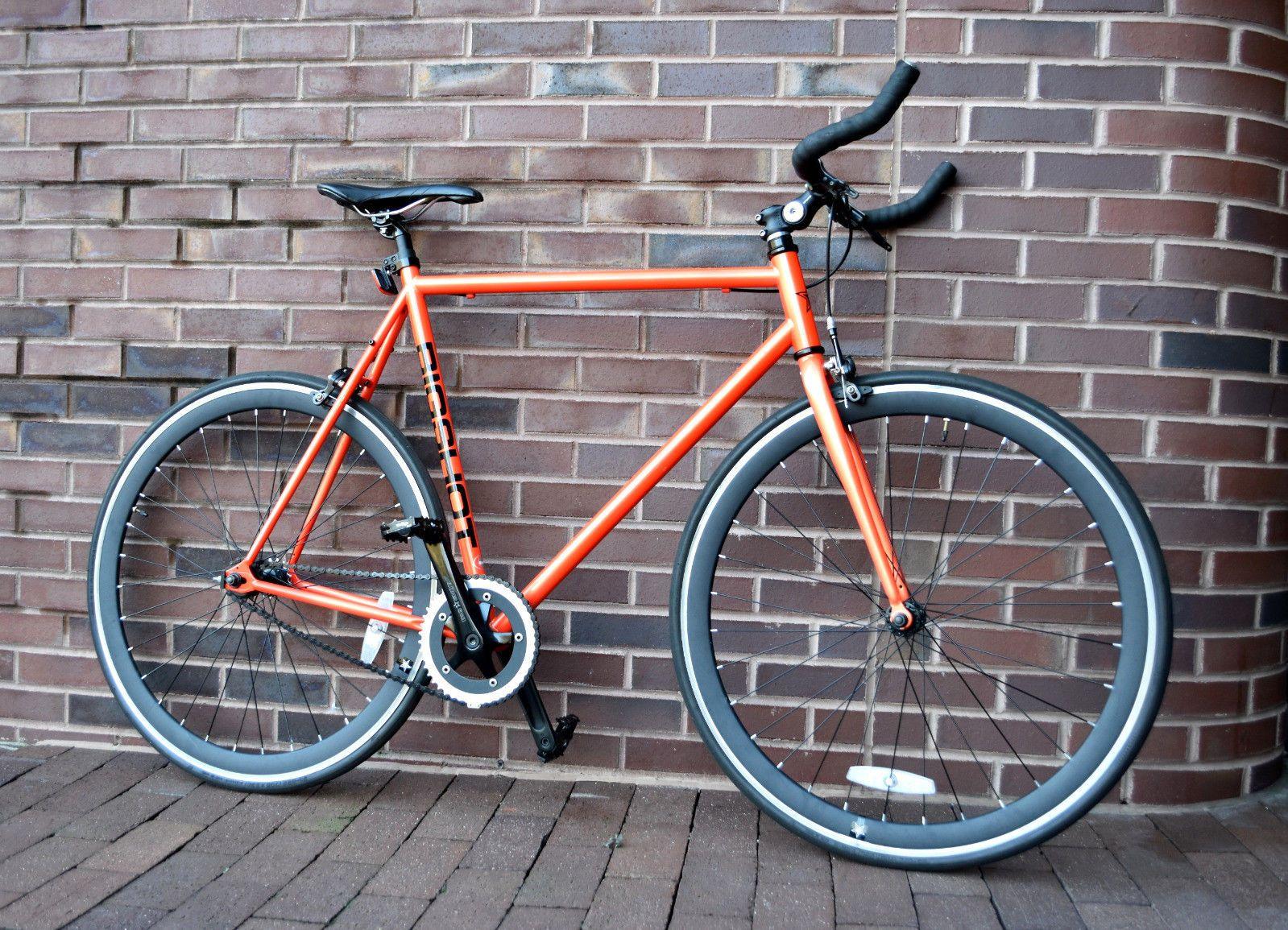 df1a1c2fa ON SALE  Big Shot Madrid Single Speed Fixed Gear Fixie Bike Large 60cm  Frame Red