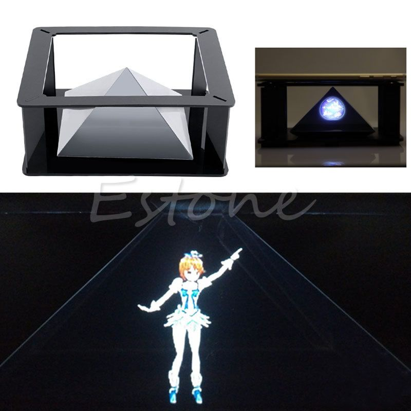 Diy 3d holographic hologram display holographic projector