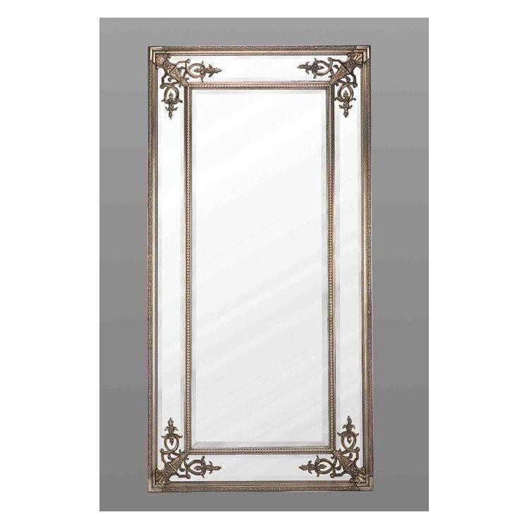 Full length silver cimiero mirror 183 x 91cm for Silver full length mirror