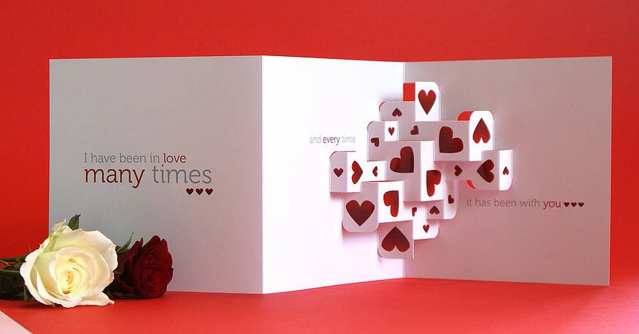 Much love 3d greetings card cards pop up pinterest 3d cards much love 3d greetings card m4hsunfo