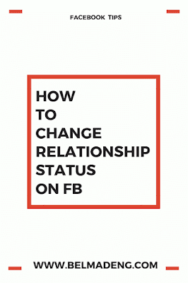 fb status on relationship