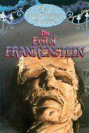 Evil of Frankenstein (1964) video release cover