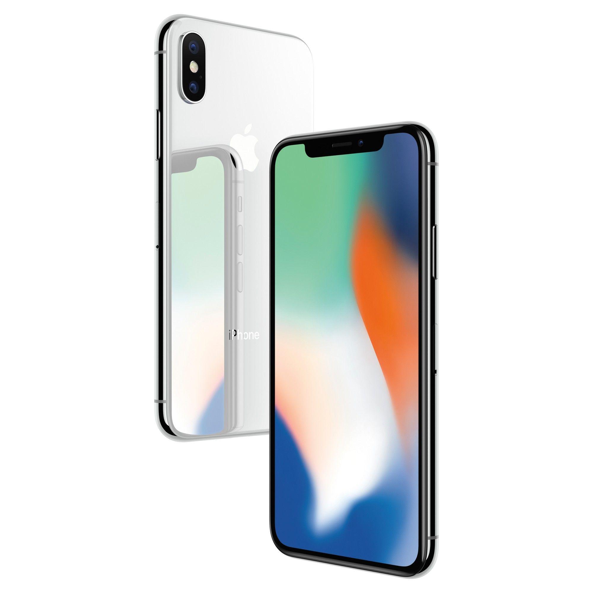 Apple Iphone X 64gb Silver Iphone Prepaid Phones Apple Iphone