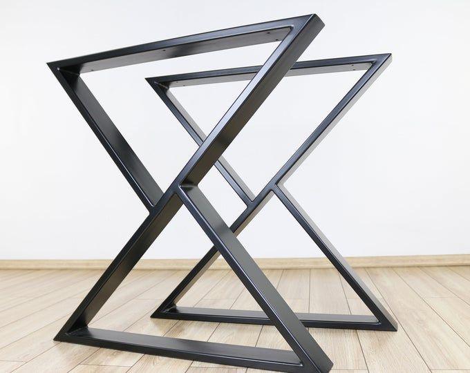 Table Legs Table Frame Table Skids Table Feet Steel Metal Industrial Loft Table Metal Table Legs Steel Table Legs Metal Table