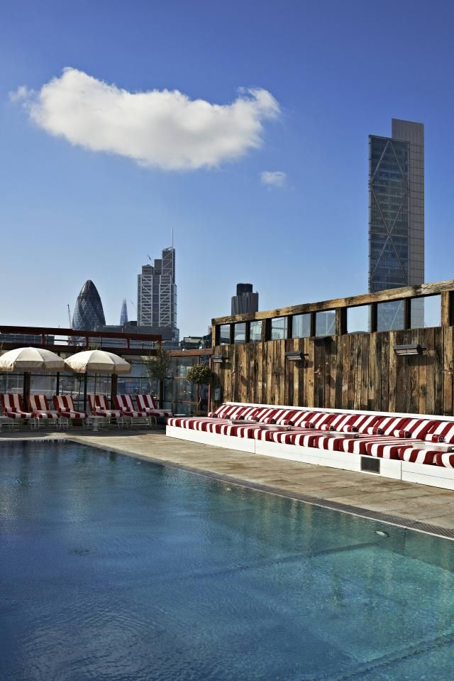 Shoreditch House: London's Coolest Pools In Retreats And Spas In 2020