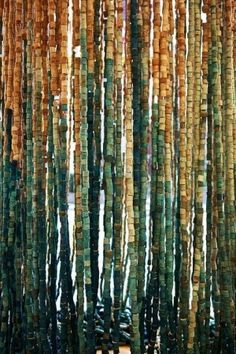 cork bead curtains