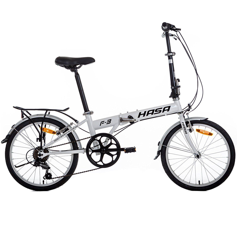 Amazon Com Hasa Folding Foldable Bike Sram 6 Speed White Http