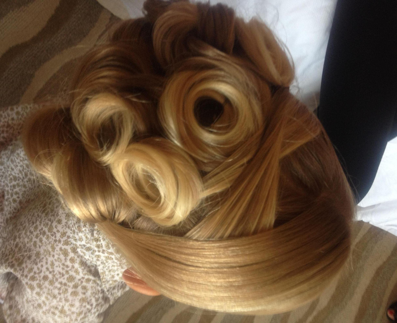 flower girl updo hairaholicsalon  girls updo long hair