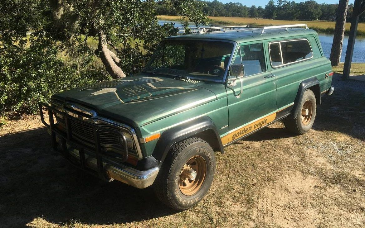 Garaged Golden Eagle 1979 Jeep Cherokee Jeep Cherokee Jeep American Classic Cars