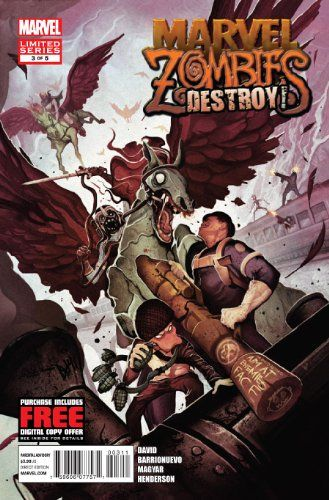 """Marvel Zombies Destroy #3 - """"What Happened to the Norse Gods and How Asgard Became Zombie Territory"""""""