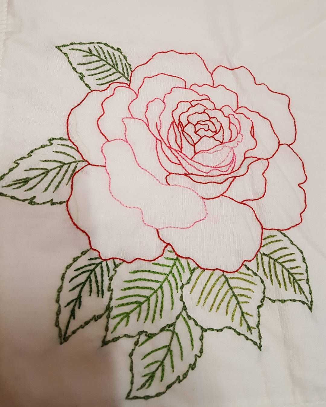 Embroidery Embroider Handembroidery Embroideyart Flower Floal Bordado Handmade Needlew Rose Embroidery Pattern Embroidery Flowers Embroidery Tutorials