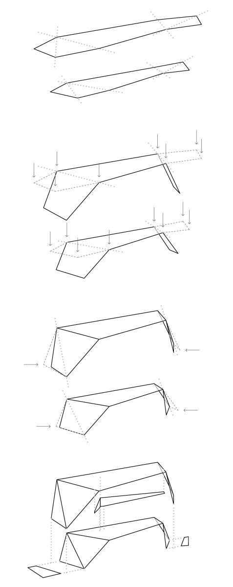 diagrams for origami models
