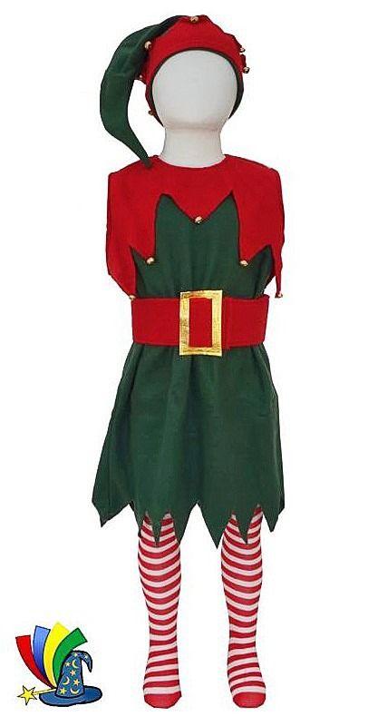 Resultado de imagen de disfraz de duende disfraces - Disfraces de duendes de navidad ...