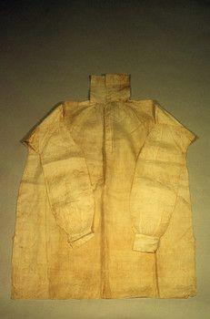 Historic New England: camisa de 1810-1820 (Inventario: 1966.46)
