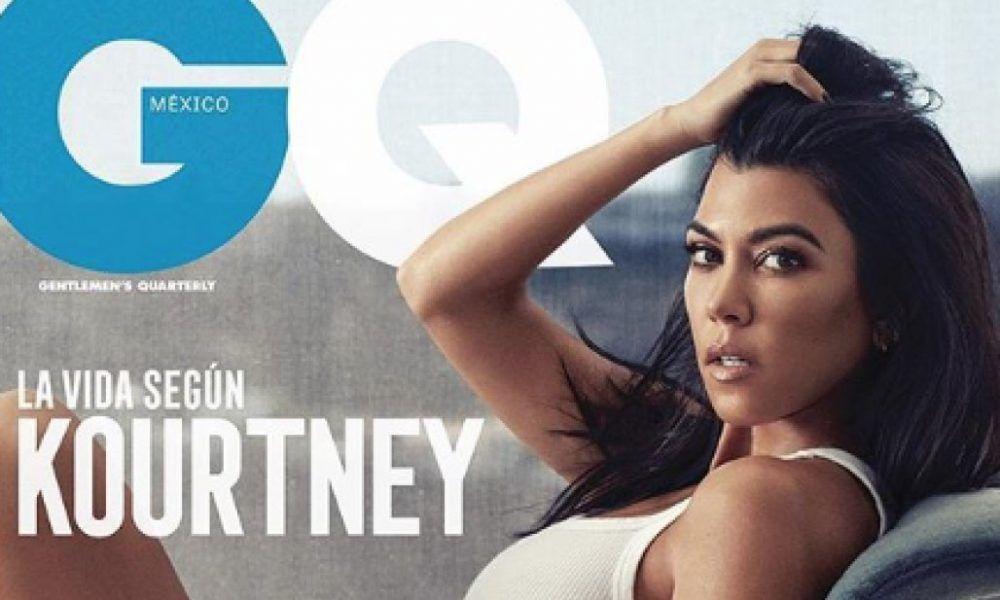 Kourtney Kardashian strips down for latest photo shoot