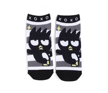 Sanrio Badtz Maru Socks Womens Black and White