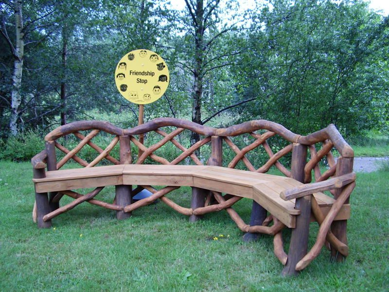 rustic garden furniture. Rustic Outdoor Furniture | Coppice Creations - Garden And Fencing From The Wyre . S