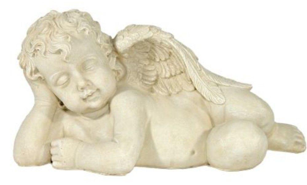 Engel Auf Der Seite Liegend Skulpturen Gartenskulptur Figur