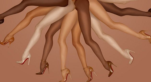 """a1af1633a85d NUDE SHOES FOR ALL SKIN TONES """"They disappear like magic and become a fluid  extension of her legs"""