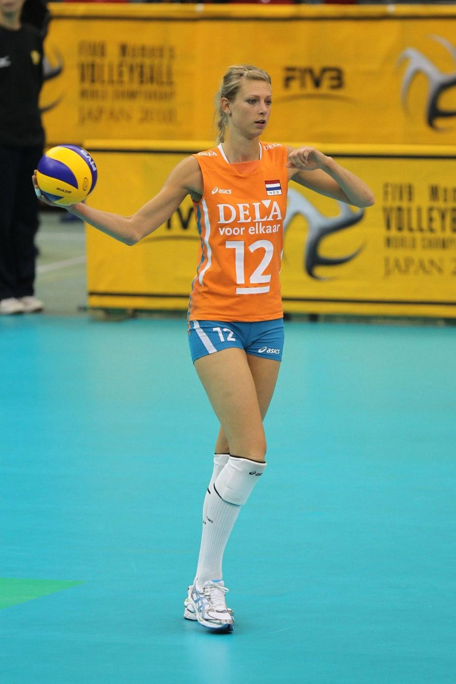 Manon Flier Netherlands 2010 World Championship Volleyball Players Volleyball Female Athletes