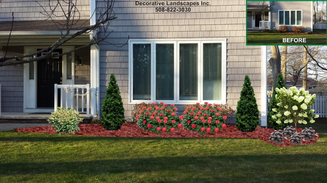 front yard curb appeal enhancement