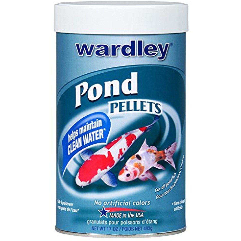 Hartz 00670 17 oz wardley pond ten floating food
