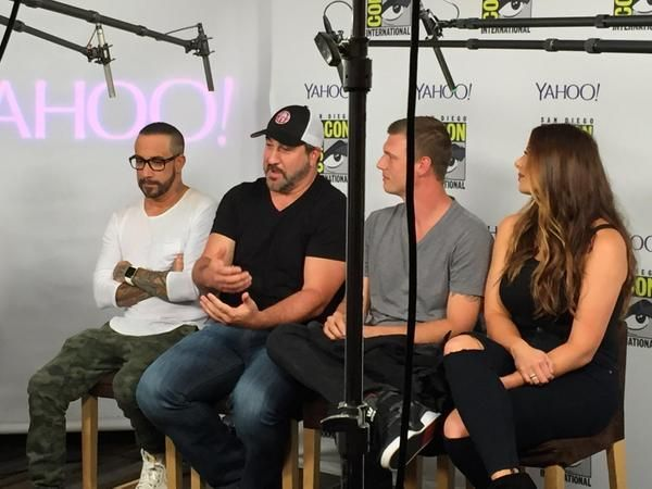 #ComicCon brings people together. Even Backstreet Boys and *NSYNC.