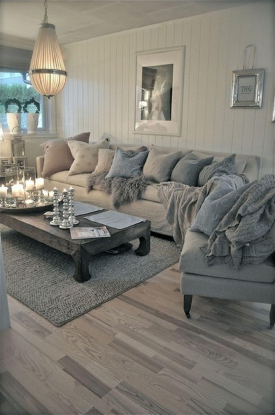 Nice 35 Stunning Ice Blue Living Room