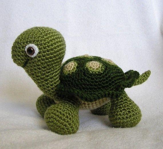 BABY TURTLE PDF Crochet Pattern (English only) #crochetturtles