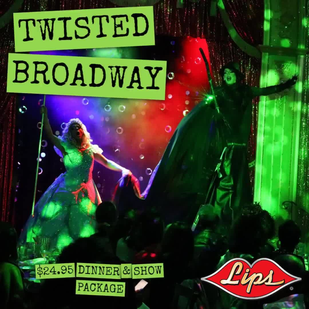 Baby its cold outside, but TWISTED BROADWAY IS HEATING UP INSIDE OF LIPS!!!!! Tomorrow Night and Every WEDNESDAY - Only at LIPS CHiCAGO - Call for reservations 312-815-2662 #chitown #chicagogram #westside #mychicagopix #foodie #illinois #fabtech2019 #fabtech #lipschicago #broadwayinchicago