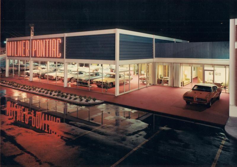 1968 Milner Pontiac Dealership, Tulsa, Oklahoma Best