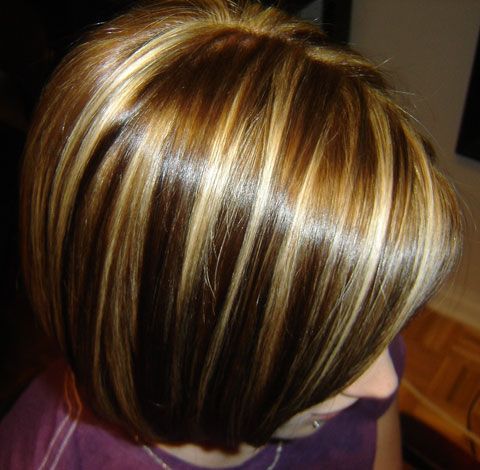 Chunky Highlights And Lowlights Hair And Beauty Chunky