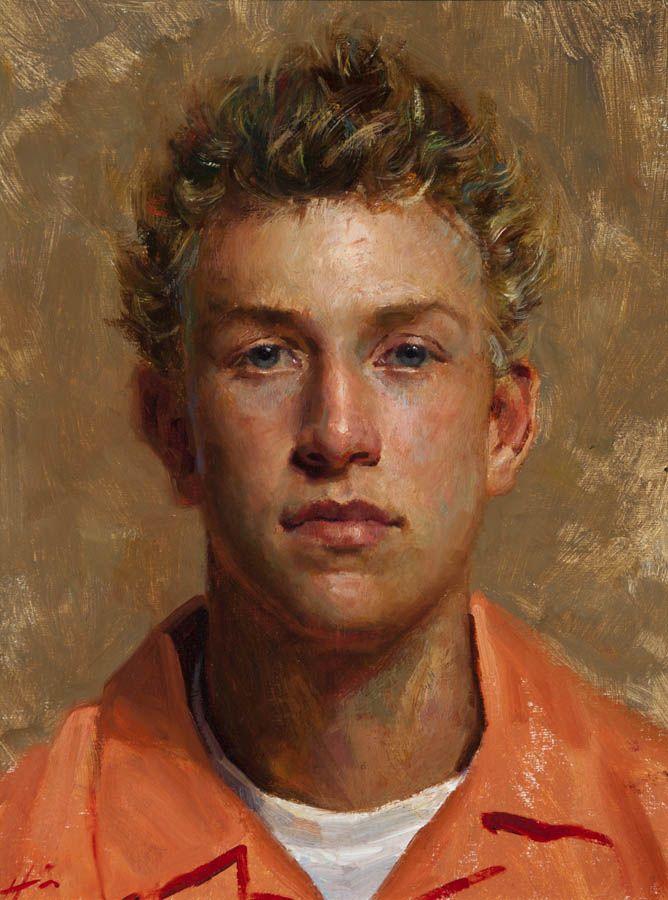 Salt Lake City Ut Portrait Oil Portrait Contemporary Portrait